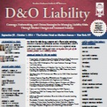 ACI 16th Annual Forum on D&O Liability – Oct 1, 2014