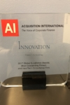 AI 2017 InsurTech Consultant of the Year Award