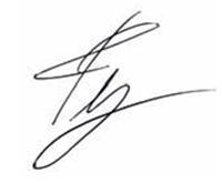 Ty signature