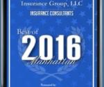 2016 Insurance Consultants Award